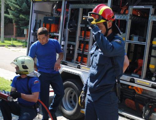 Пожарная тренировочная эвакуация из детского сада ❗️