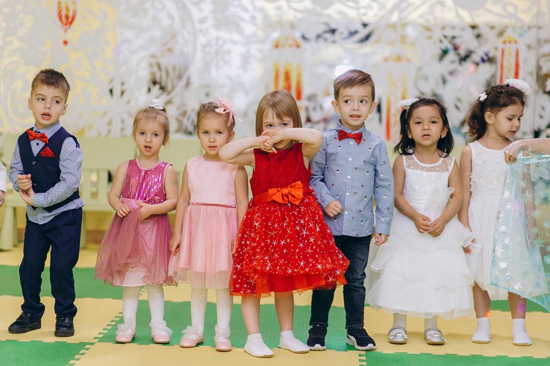 Новогодний праздник, 2020-2021, Младшая группа