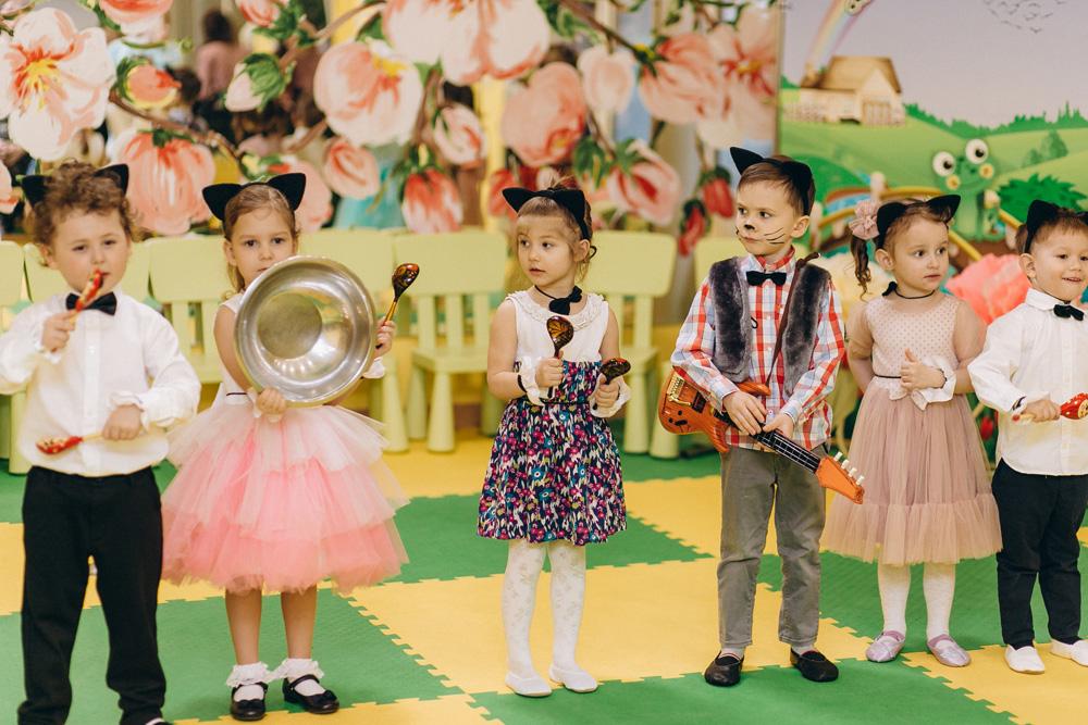 детский сад Мостик детской мечты, 8 марта 2021 - средняя группа
